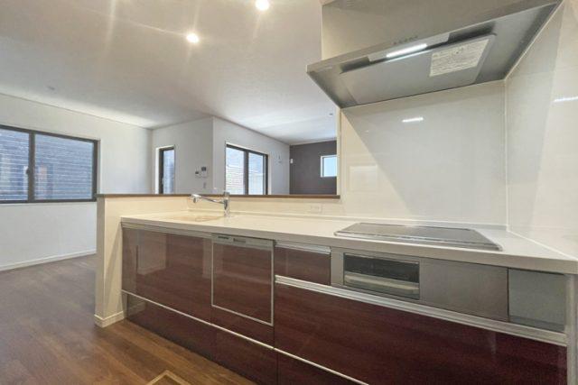 新築建売住宅のキッチン
