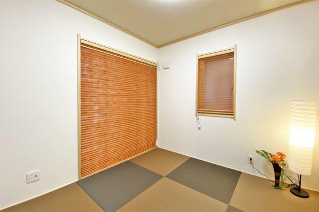 ホームセレクトの新築住宅物件の和室